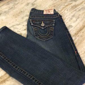 Women's True Religion Billy Jeans.  Size 26.